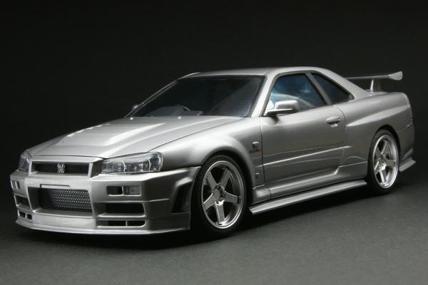 R34 GT-R Nismo R-tune(アオシマ)