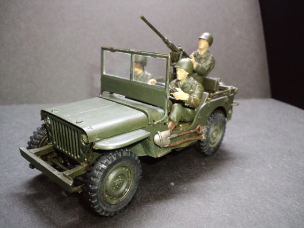 U.S.JEEP 1/4ton 4×4TRUCK WILLS MB