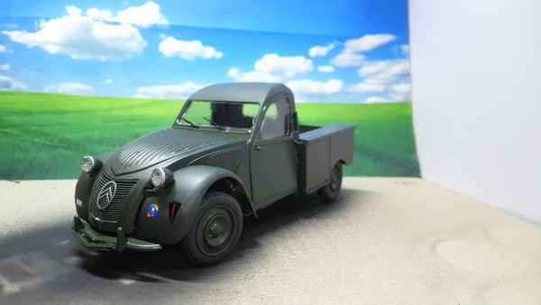 CITROEN 2CV Pick up Royal Navy Ver.