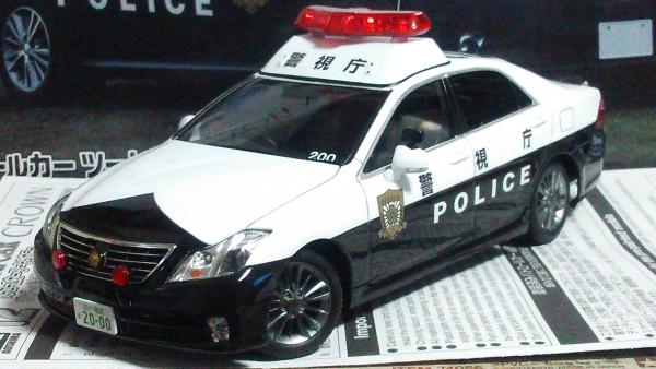 TOYOTA 20 CROWN PATROL CAR 警視庁 無線警ら仕様