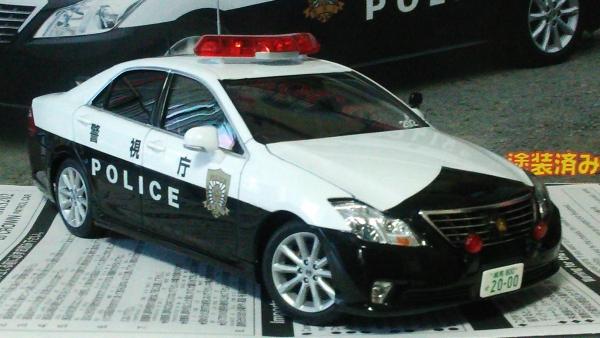 TOYOTA 20 CROWN PATROL CAR 警視庁 交通取締まり仕様