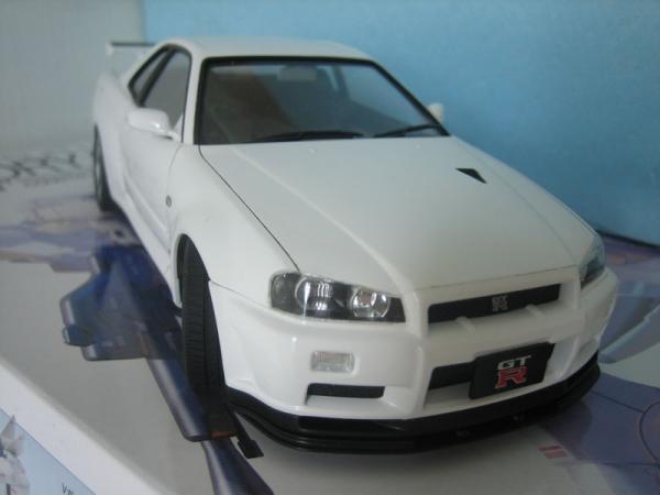 スカラインGT-R(R34) V.specII Nur