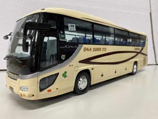 ヤサカ観光バス フジミ観光バス改造