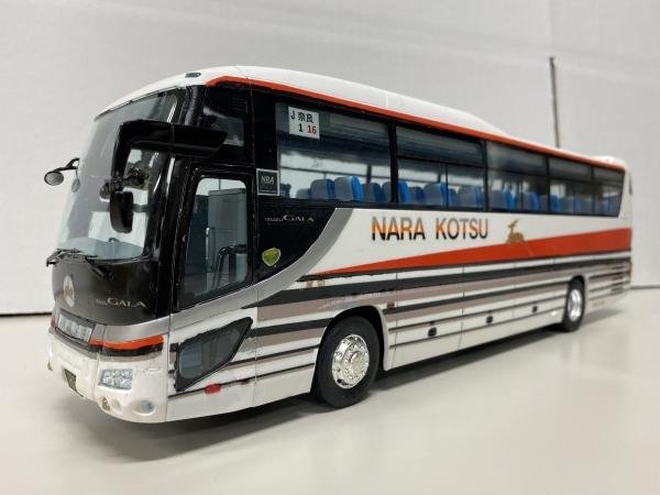 奈良交通 貸切バス フジミ観光バス改造