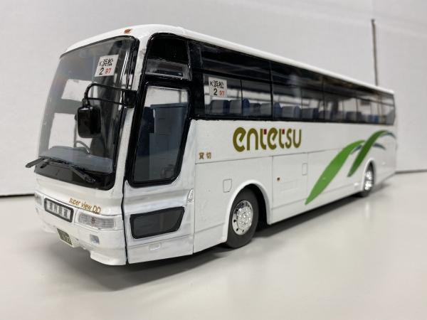 遠州鉄道 観光バス アオシマ 三菱ふそうエアロクイーン