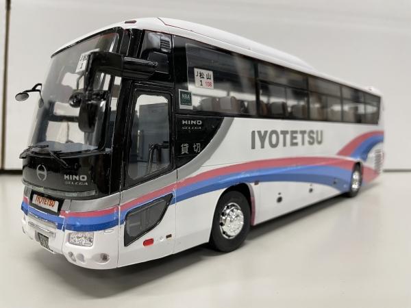 伊予鉄道 貸切バス フジミ観光バス 日野セレガ