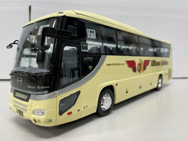 日本交通観光バス フジミ観光バス 改造日野セレガ