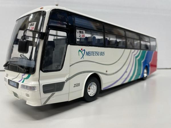 名鉄バス アオシマ1/32 バス改造 貸切バス仕様