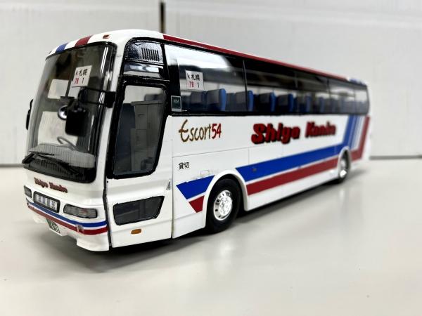 滋賀観光バス アオシマエアロクイーン観光バス改造