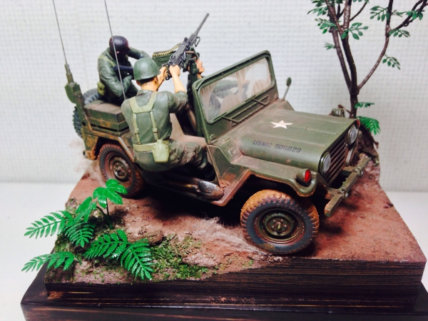 ウィリスジープM151a2ベトナム戦