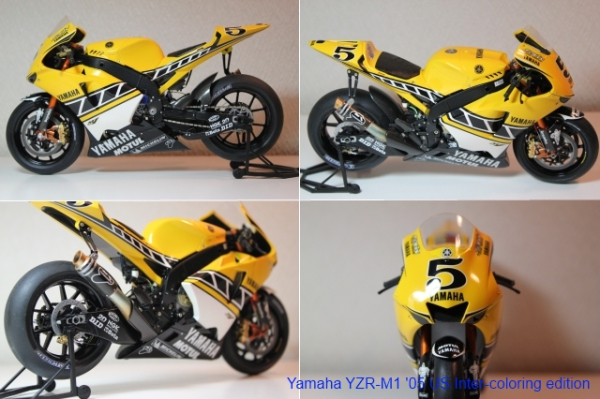 ヤマハ YZR-M1 '05 (US Inter-coloring edition)②