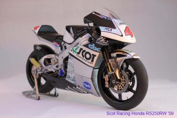 スコットレーシング・ホンダ RS250RW '09①