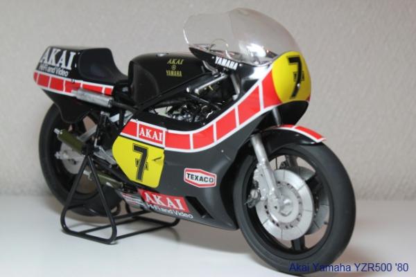 アカイ・ヤマハ YZR500 '80①