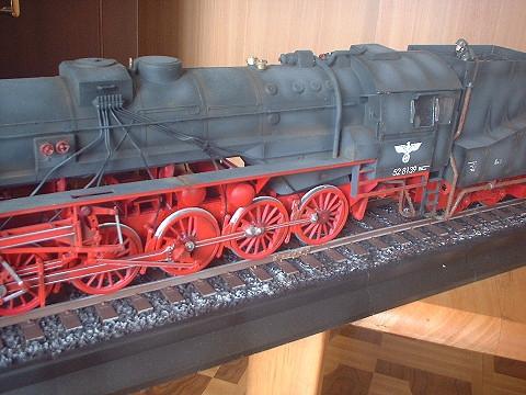 軍用蒸気機関車BR52