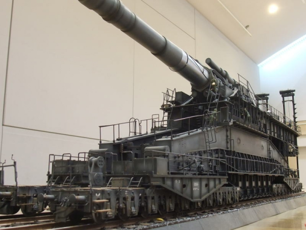 ソールアート1/35・80㎝重列車砲ドーラ