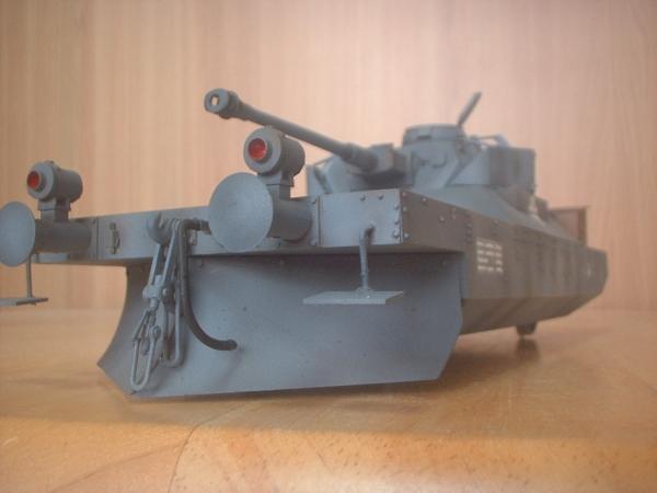 トランペッター 1/35 鉄道装甲駆逐車パンッアーイェーガー