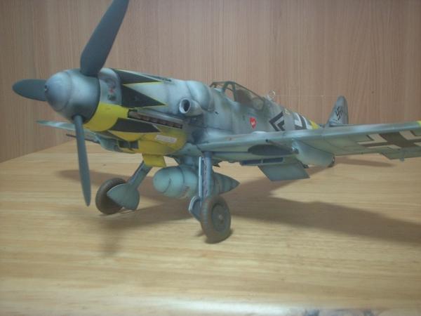 トランペッター1/24メッサーシュミットBf109 G-6