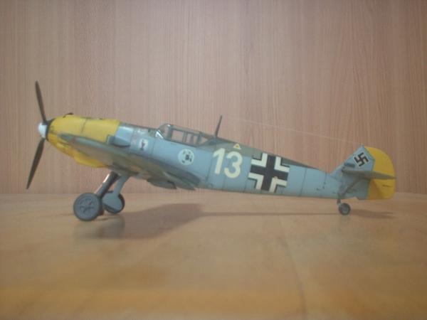 ハセガワ 1/48 メッサーシュミット Bf109 E-3