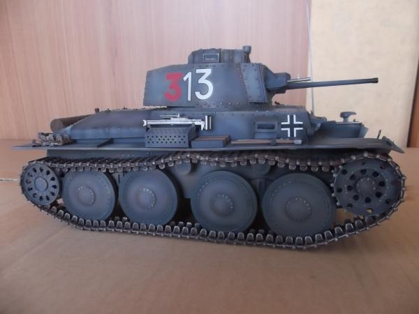 パンダホビー 1/16 38(t)軽戦車E/F型