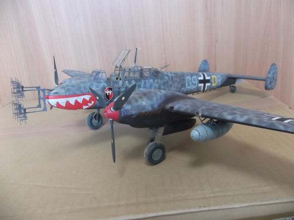 メッサーシュミットBf110 D夜戦改修型