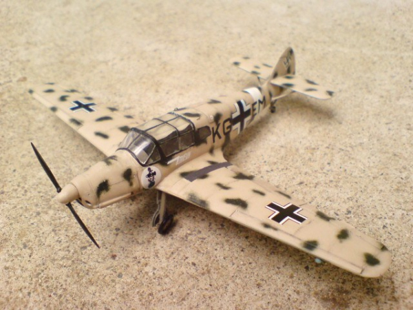 メッサーシュミット Bf108B (Heller)