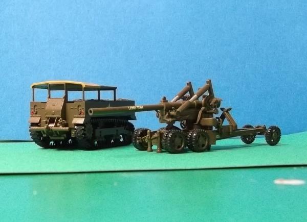 1/72ハセガワM2ロングトム&M5トラクター