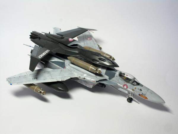 VF-0A W/GHOST 工藤シン 乗機