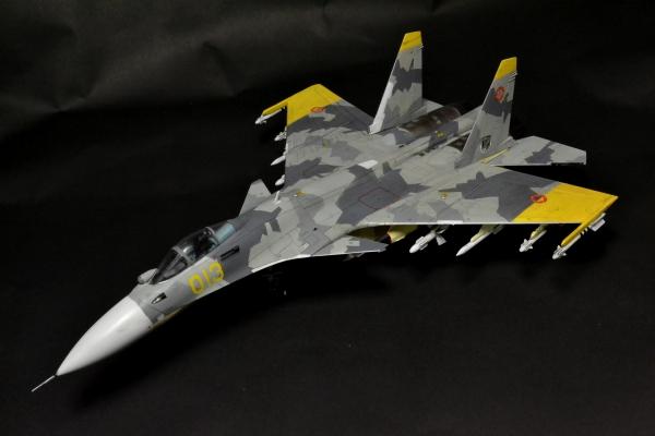 Su-33 エルジア空軍第156戦術戦闘航空団アクィラ 黄色の13