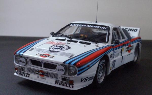 LANCIA 037 Rally 1983 MONTE-CARLO