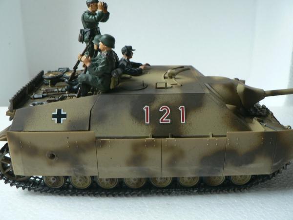 1/35 タミヤ4号駆逐戦車ラング