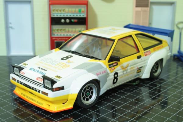 トヨタ スプリンター トレノ GT-APEX改 N2仕様 (AE86)