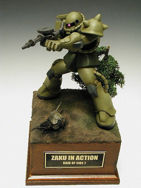 ZAKU IN ACTION