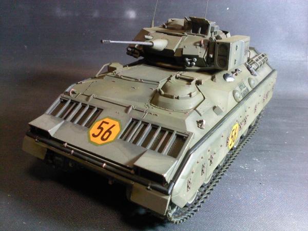 アメリカM2ブラッドレー歩兵戦闘車