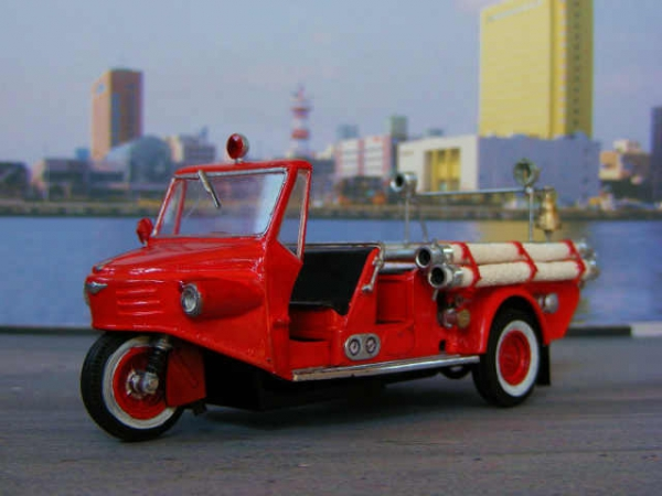 ヂャイアント三輪消防車