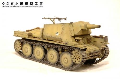 38(t)偵察戦車7.5㎝砲搭載型