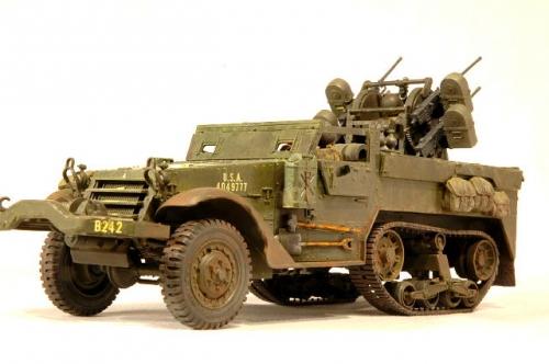 自走対空機銃M16スカイクリーナー