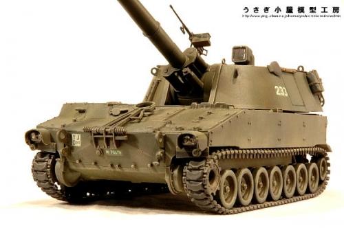 スイス陸軍M109A2自走りゅう弾砲