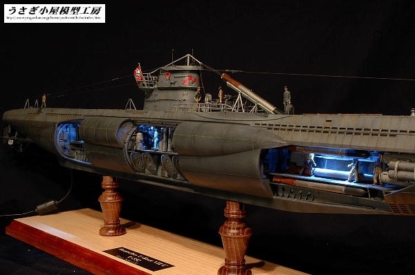 UボートVIIC型 U-552