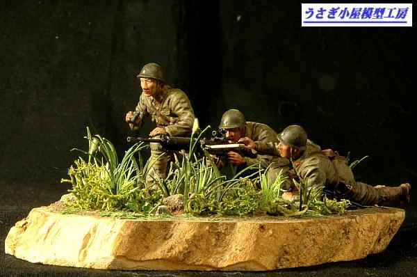 日本陸軍九二式重機関銃