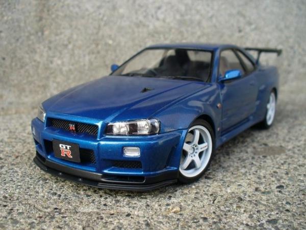 【タミヤ】日産 スカイライン GT-R VスペックII (R34)