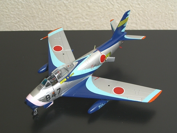 F-86Fセイバー「ブルーインパルス」(初期塗装)