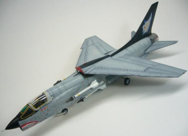 F-8E クルセイダー  エリア88  シン・カザマ