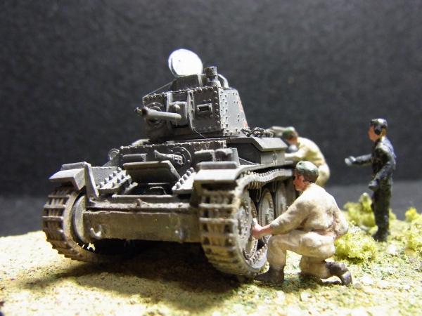 """1/76 ドイツ陸軍38t軽戦車""""PRAGA"""""""