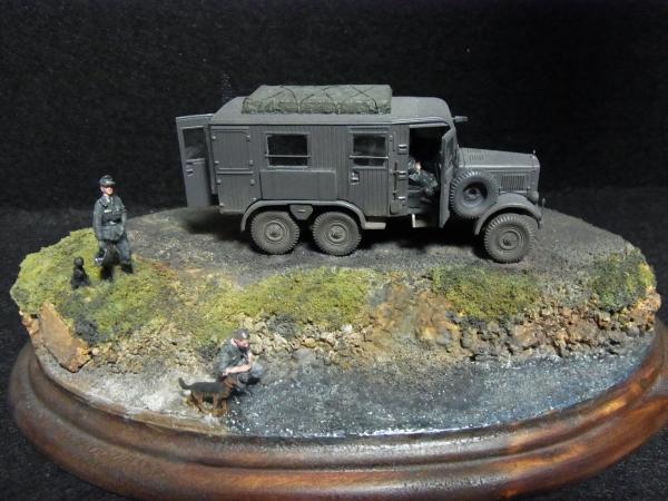 1/72 ドイツ軍Kfz.62トラック