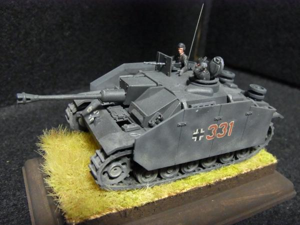 1/76 STURMGESSCHUTZ III(III号突撃戦車G型)