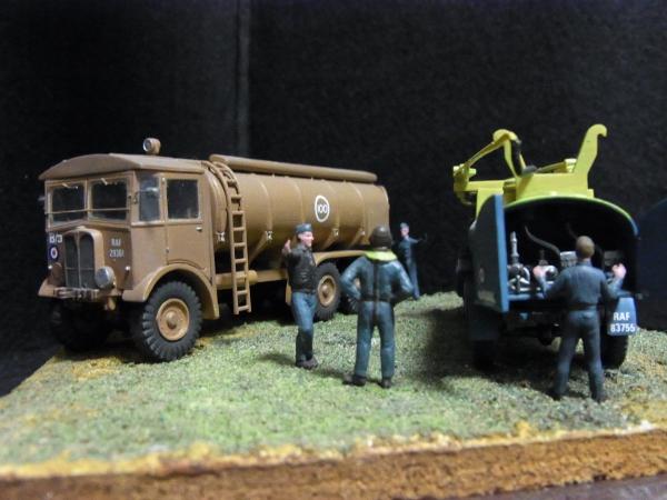 1/72 RAF給油車