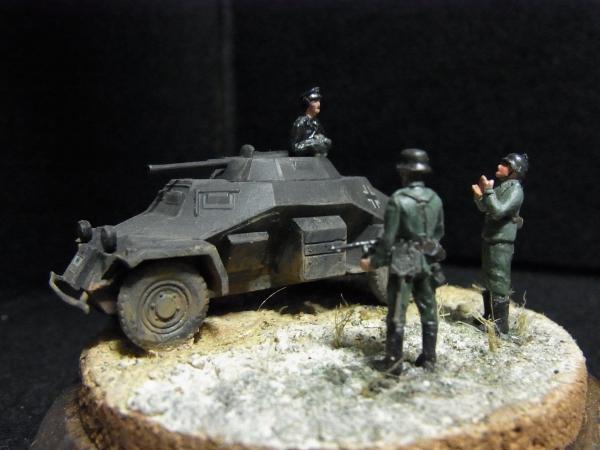 1/72 ドイツ軍Sd.Kfz.222