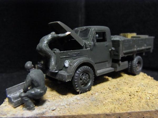 1/72 Gaz-51トラック