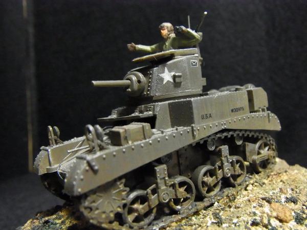 1/72 M3 STUART Mk.1軽戦車