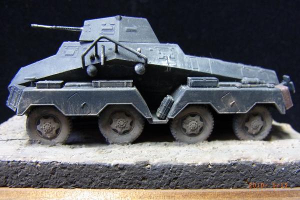 1/72 ドイツ軍Sd.Kfz.231 装甲車